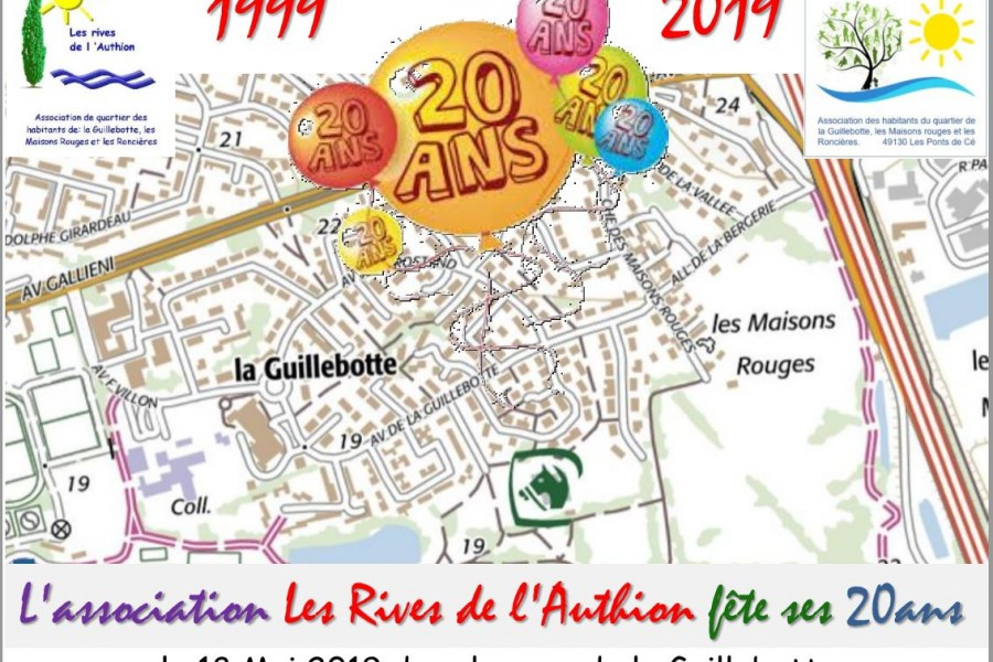 Samedi 18 mai : Journée 20 ans